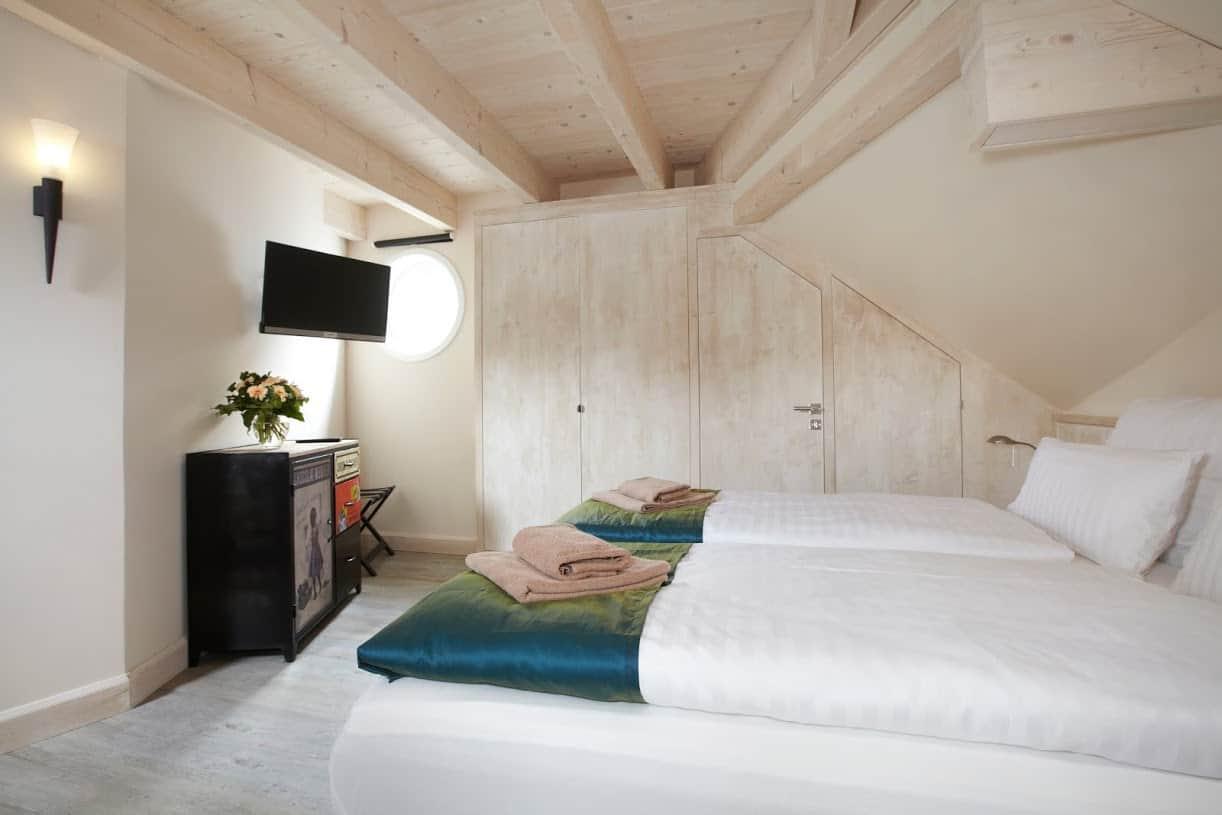 Blankenfohrt Strandhaus 9 Strandwohnung Turm Schlafzimmer